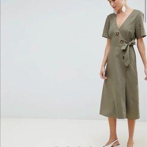ASOS Wrap Midi Dress